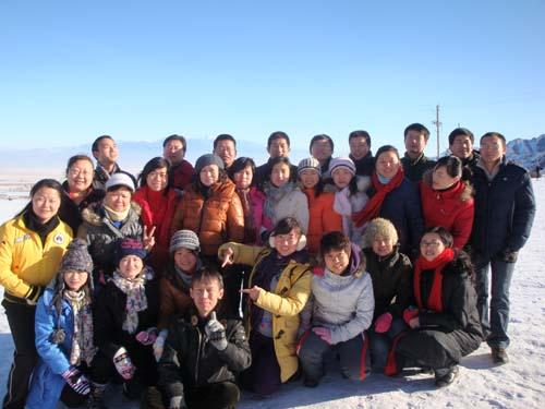 09年冬季南山滑雪